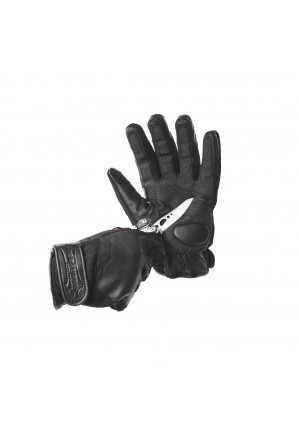 Bladerunner New Style Leather/Neoprene Gloves with Knuckle Protection and Lining made with woven aramid fibre