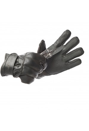 Bladerunner Leather Gloves with Knuckle Protection and Lining made with woven aramid fibre