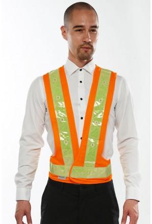 LED Hi-Vis Safety Vest