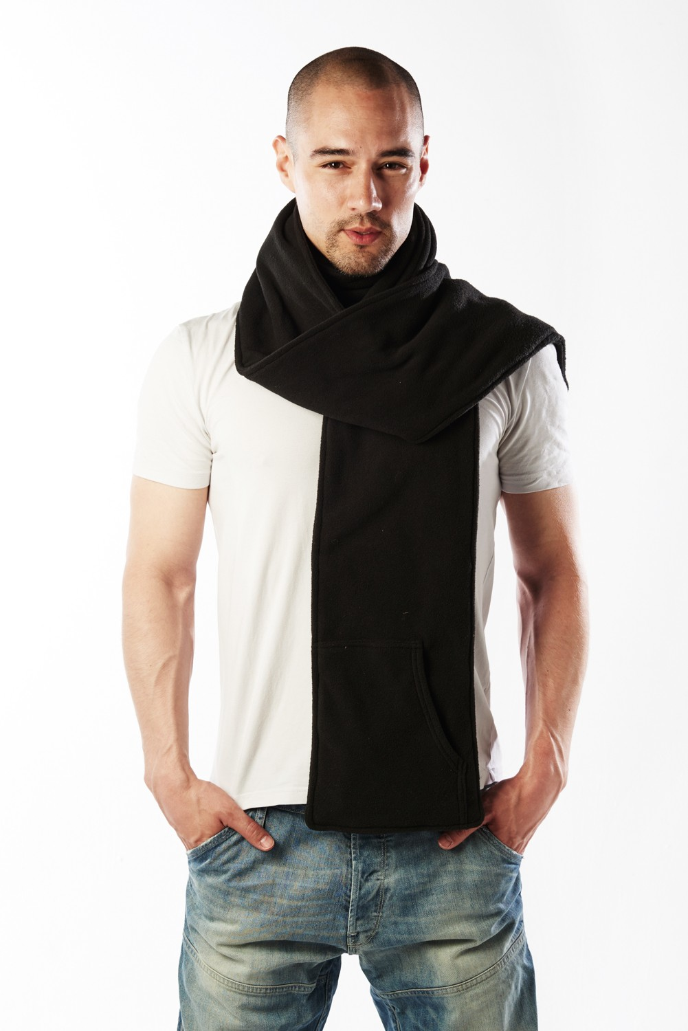 Anti Slash Scarf with Kevlar® lining