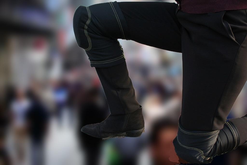 Anti Slash Kevlar Lined Knee Pads