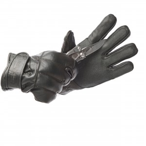 Leather Gloves with Knuckle Protection - Cut Resistance Level 2