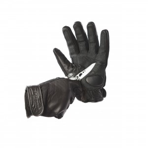 New Style Leather / Neoprene Gloves with Knuckle Protection - Cut Resistance Level 2