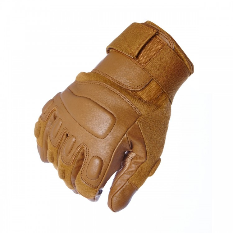 Coyote Gloves Without Knuckle Protection - Cut Resistance Level 5
