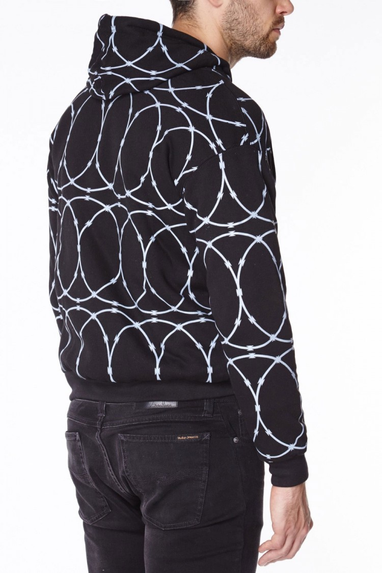 Razorwire anti-slash hooded top lined with Dupont ™ Kevlar ® fibre