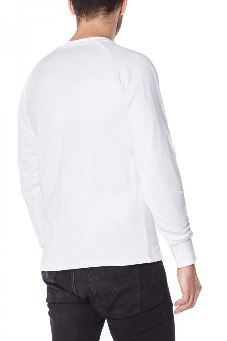 White Anti-Slash T-Shirt | Long Sleeve Cut Resistant Kevlar T-Shirt in White
