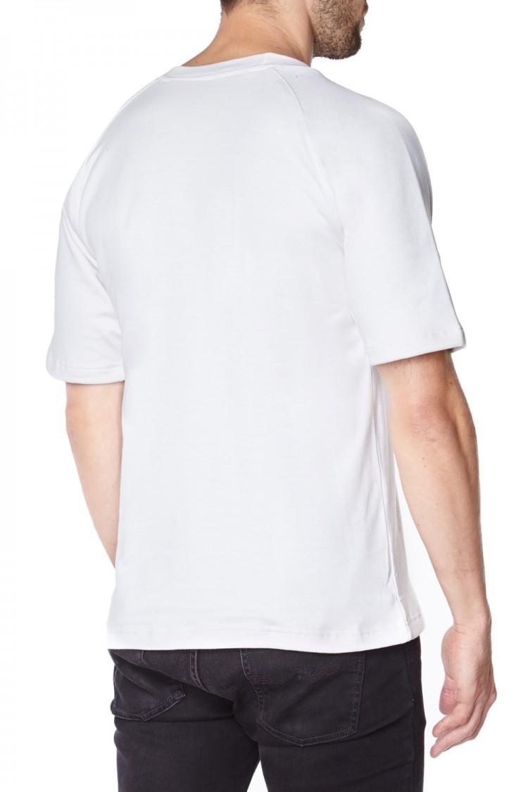 White Anti-Slash T-Shirt | Short Sleeve Cut Resistant Kevlar T-Shirt in White