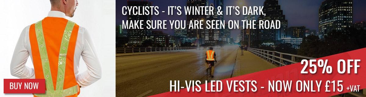 Hi-Vis LED Vests