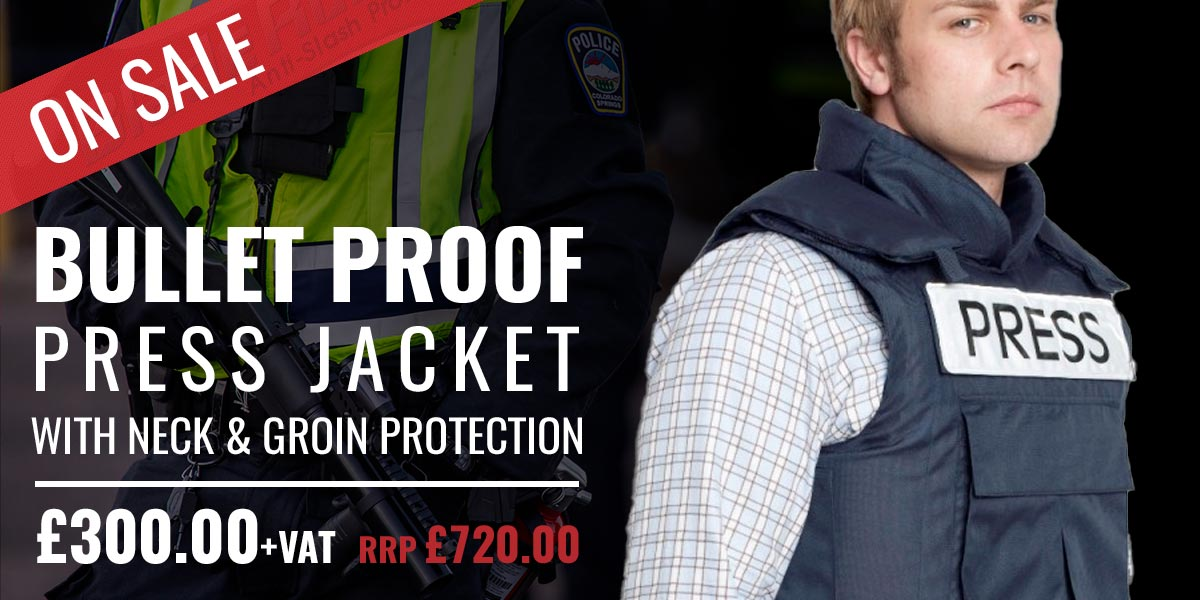 Bullet Proof Press Jacket