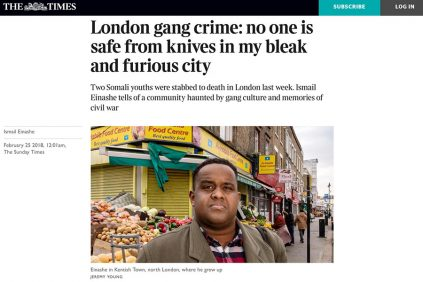 Knife Crime - Getting much worse