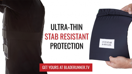 New Ultra-thin Stab Resistant Plates - Exclusively from Bladerunner